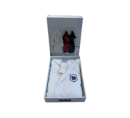 Подростковый халат Maison D'or Sport White хлопок 10-12 лет белый