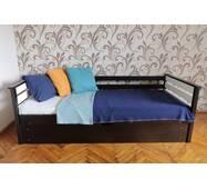 """Односпальне ліжко з п/м """"Телесик"""""""