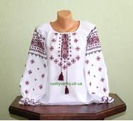 вышиванка для девочки ручной работы недорого