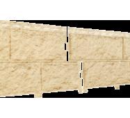Фасадные панели Stone Housе Камень, цвет: Золотистый
