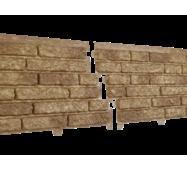 Фасадные панели Stone House Кварцыт, цвет: Темно-бежевый