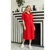 Платье Miledi Бизе красный