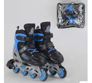 Ролики 50077-М Best Roller /размер 34-37/ цвет - СИНИЙ