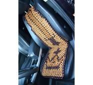 Деревянная накидка массажная на автокресло