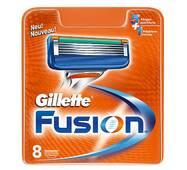 Касети Gillette Fusion, 1 уп./ 8 шт США