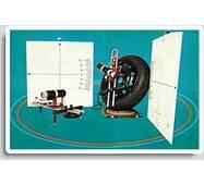 Стенд оптичний для вимірювання геометричних параметрів і кутів установки коліс легкових автомобілів «Автомайстер-33»