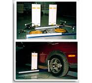Стенд лазерний для вимірювання параметрів заднього моста автомобіля «ПАНОРАМА-КВАДРО»