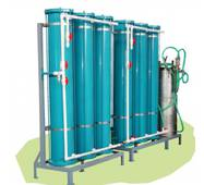 Установка пом'якшення води одноступінчата УВО-6,0