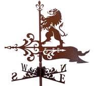 Флюгер на крышу Королевский лев