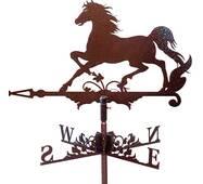 Флюгер на крышу с лошадью
