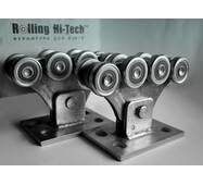 Фурнітура для відкатних воріт: Посилений комплект до 350кг (металеві ролики)