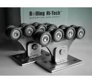 Фурнітура для відкатних воріт: Посилений комплект до 350кг(полімерні ролики)