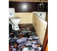"""3d-підлога """"Тепла вода"""""""