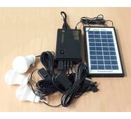 Портативный аккумулятор GDLITE GD-8365 (солнечная батарея, 3 светодиодные лампы, аккумулятор)