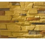 Облицювальний штучний камінь з гіпсу Аляска (світло-жовтий)