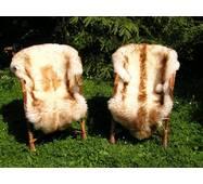 Овеча шкура - овечі шкури - шкура вівці (коричнево-кремового кольору)