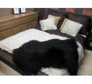 Шкура вівці - овечі шкури - овеча шкура (чорного кольору)