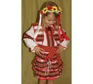 Детские вышиванки (костюм для девочки)