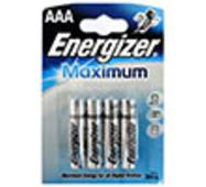 Элемент питания ENERGIZER Maximum AAA (LR03) FSB4 7638900297577