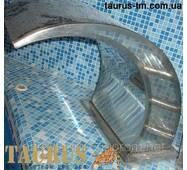 Водоспад Classic 400 мм   (масажер) з нержавіючої сталі у басейн
