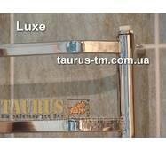 Современный, стильный полотенцесушитель Luxe 8/850х450 для ванной комнаты. Плоская трубка на перемычках 20х10