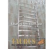 Полотенцесушитель нержавеющий Luxe 11/1150х450. Перемычки трапецией - прямоугольная труба 20х10