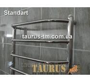 Полотенцесушитель Standart 8/850x500 из н/ж стали. Перемычки трапеция. Круглая труба 20 мм. TAURUS TM Смела