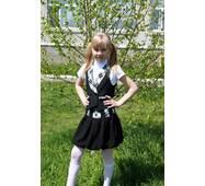 Жилет для девочек младшей и средней школьной группы Жл 116-8