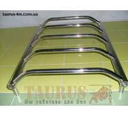 Популярный полотенцесушитель Standart 5/550х500. Выступающие перемычки трапецией d20 н/ж сталь. 1/2