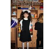 Сарафан для девочки младшего школьного возраста Сф 116-3
