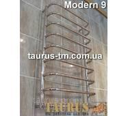 Практичный плотенцесушитель Modern 9/950х450 с круглых труб н/ж