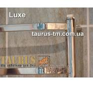 Полотенцесушитель из н/ж стали Luxe 10 (1050 х 450 мм.). Перекладины из прямоугольной трубы 20х10. Стильный