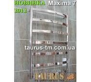 Новий  дизайнерський полотенцесушитель  Maxima 7 / 750 х 450 мм.