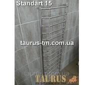 Громадный высокий полотенцесушитель Standart 15/1550х450 мм. Практичные выступающие перемычки d20