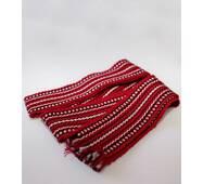 Детский тканый пояс (красный)