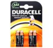 Элемент питания DURACELL LR03/AAA Basic (4 шт.)