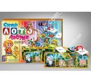 Супер лото Абетка 2 в 1 Danko toys
