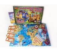 """Інтелектуальні настільні ігри """"Подорожуємо по світу"""""""