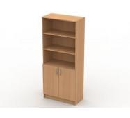 Шкаф книжный комбинированный