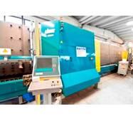 Стеклопакетная линия Lisec 1600 X 2500 с газ прессом и роботом герметизации