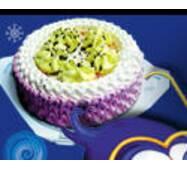 """Торт-мороженое """"Зимняя фея»"""