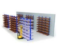 Консольні стелажі для зберігання довгомірних вантажів Тип KAF/тип KAM