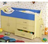 Кровать со шкафом и 3 ящиками