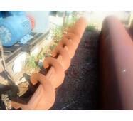Конвеєр (шнек) гвинтовий для подачі зерна