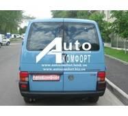 Заднє скло (сорочечка права) без електрообігріву на Volkswagen Transporter Т- 4 (Фольксваген Транспортер Т- 4)