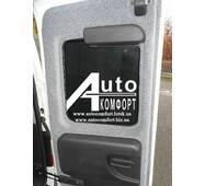 Заднє скло (сорочечка права) з електрообігрівом на автомобіль Opel Combo C (2001-2011)  (Опель Комбо C (2001-2011)