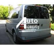 Заднее стекло (распашонка левая) без электрообогрева на Volkswagen Transporter Т-5 (Фольксваген Транспортер T-5)