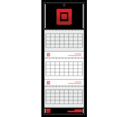 Календарь квартальный на три пружины