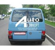 Заднє скло (сорочечка права) з електрообігрівом на Volkswagen Transporter Т- 4 (Фольксваген Транспортер Т- 4)