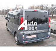 Заднее стекло (распашонка левая) без электрообогрева на Renault Trafic, Opel Vivaro, Nissan Primastar